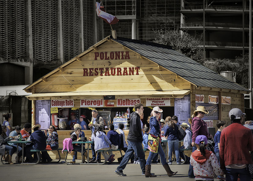 Polonia Restaurant At Houston Livestock Show and Rodeo